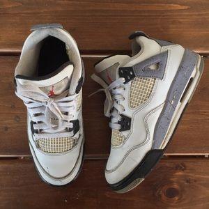 Kids Air Jordans Retro 4 Size 3.5